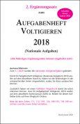 Aufgabenheft Voltigieren (Nationale Aufgaben) 2018 - 2. Ergänzung gültig ab 1.1.2020 (Download)